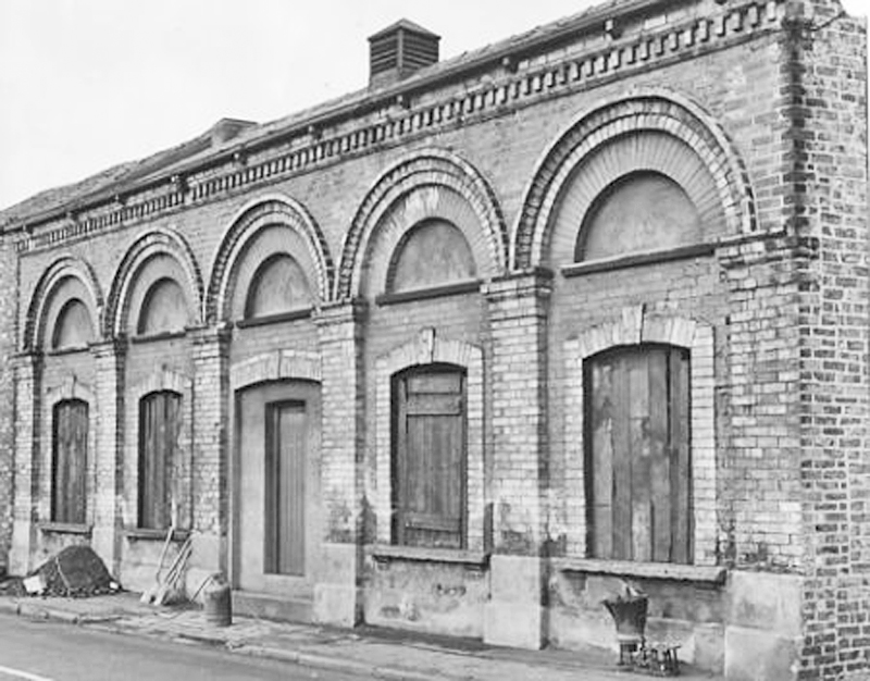 The Chicory Works on the Foss just before demolition, 1967