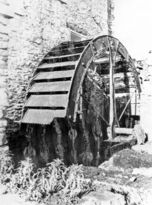 This water wheel at Stillington was once powered by the Foss