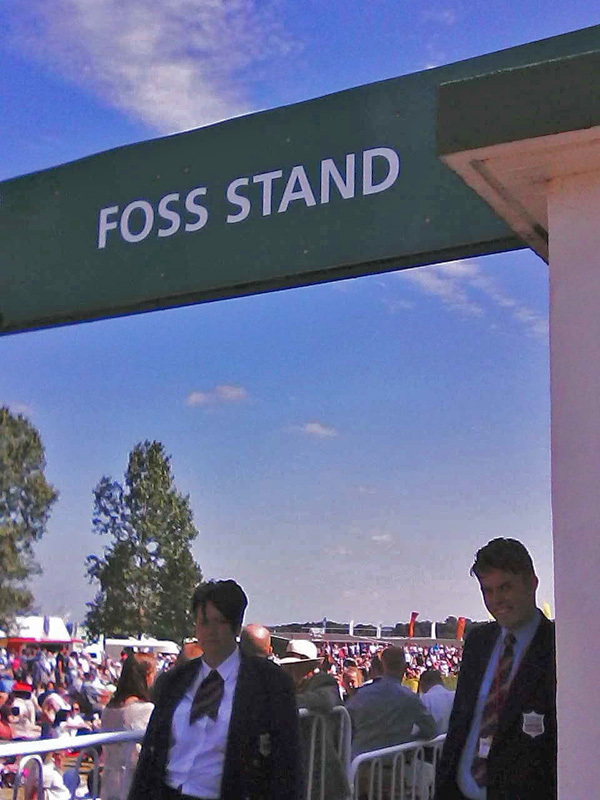 The Foss stand at the Great Yorkshire Show